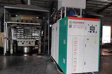 燃气模温机应用在鞋材行业